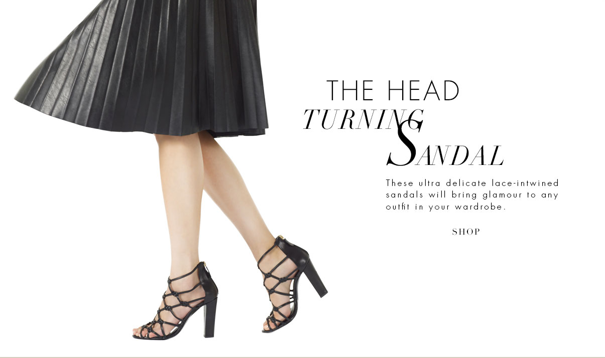 The Head Turning Sandal