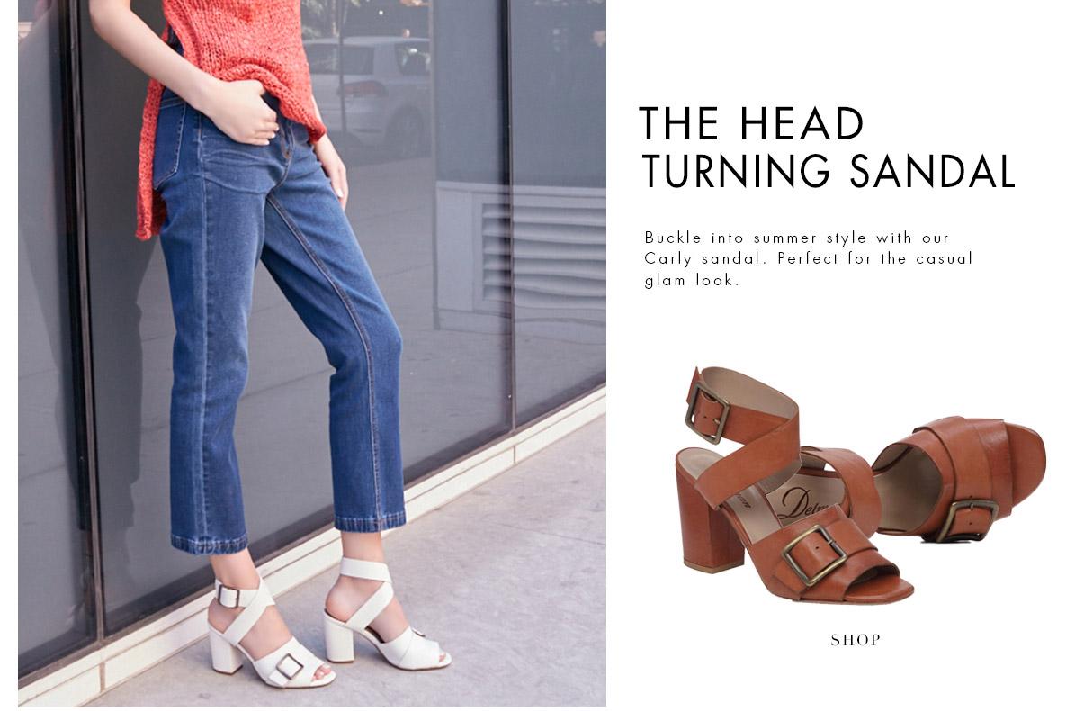 Head Turning Sandal